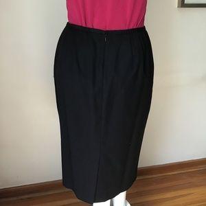 NWOT black skirt